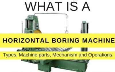 Horizontal Boring Machine:Types of boring machine (The Complete Guide)
