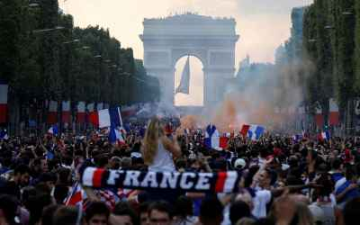 France win World Cup with 4-2 victory against Croatia