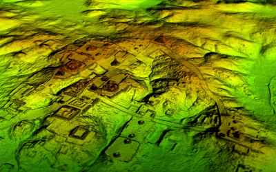 LiDAR Laser Scans Reveal 60,000 Hidden Maya Structures in Guatemala Jungle