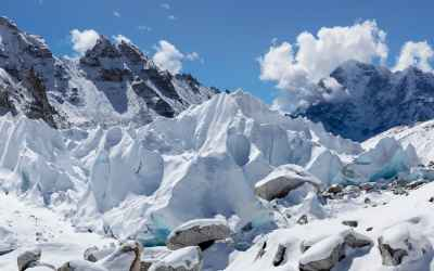 At least one-third of Himalayan glaciers the home of Mount Everest will be gone by 2100