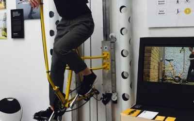 The Vycle is a human powered elevator