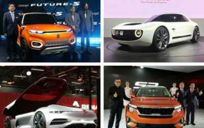 Concept Cars That Made A Splash At Auto Expo 2018 - The Future Is Here