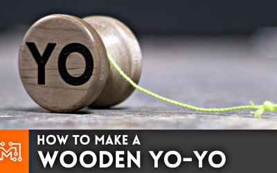 How to make a wooden Yo-yo (with a bearing) // Woodworking - I Like To Make Stuff