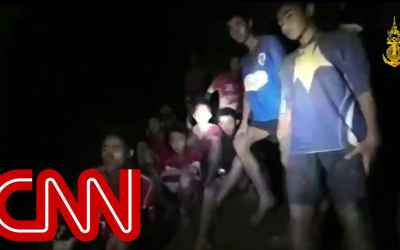 12 Boys and coach found alive after 9 days in Thai cave