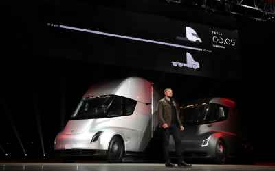 Tesla's electric Semi truck starts at $150,000, reservations now live