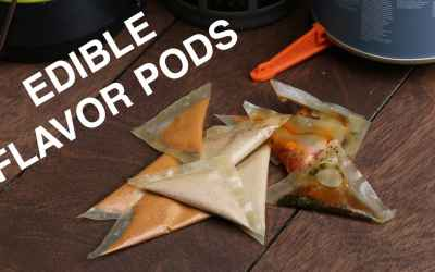 DIY Organic Edible Flavor Pods for Easy Cooking