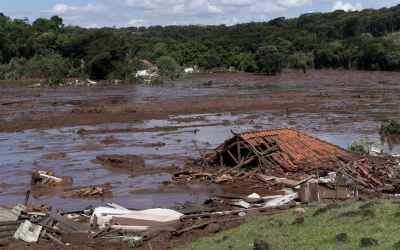 40 dead, 300 estimated missing after dam holding back waste bursts in Brazil