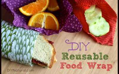 Reusable Food Wrap - A Plastic Wrap Alternative
