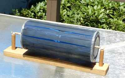 Solar Motor Without Electrical Parts - Free energy motor - Homemade Science