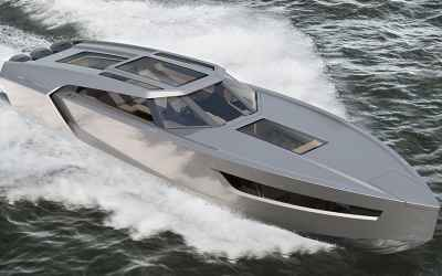 The 1,881 HP Superfly GT 42 Superyacht Can Hit 75 MPH On The Water
