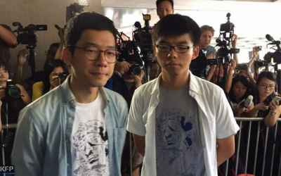 Hong Kong jails democracy activists over 2014 Umbrella Movement protests
