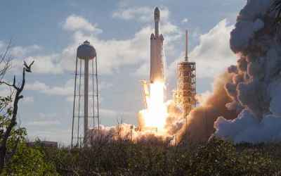 Long-Awaited Falcon Heavy Ready For Business - Sky & Telescope