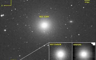 Astronomers discovered supermassive black hole in an ultracompact dwarf galaxy