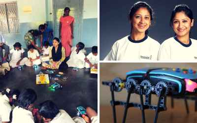 Underprivileged Orphan Girls in India Are Learning Robotics, Thank this STEM Initiative