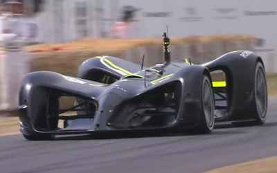 Roborace car proves it