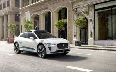 Waymo and Jaguar will build up to 20,000 self-driving electric SUVs
