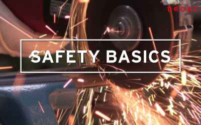 DRONCO Safety Basics - How to properly use an angle grinder?