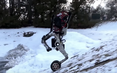Boston Dynamics newest robot is 6 feet tall, lifts 100 pounds and jumps up to 4 feet